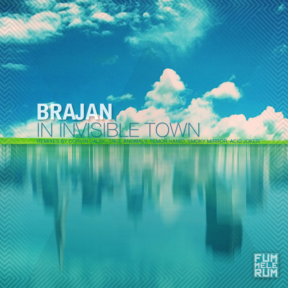 In Invisible Town Cover